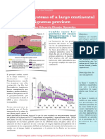 Poster de Magmatic systems of a large continental igneous province