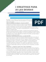 FORMAS CREATIVAS PARA ELIMINAR LAS DEUDAS.docx