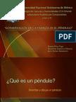 PRESENTACION CONSERVACION DE LA ENERGIA EN EL PENDULO