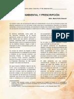 Mario Peña - Dañovambiental y prescripcion