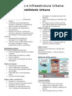 Urbanismo e Infraestrutura Urbana - Mobilidade Urbana.docx