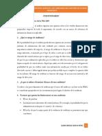 Cuestionario NIA200