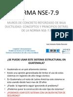 Jos Antonio Rodas - Norma NSE-7-9