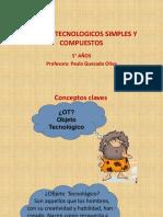 OBJETOS TECNOLOGICOS SIMPLES Y COMPUESTOS