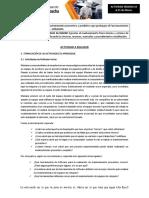 ACTIVIDADES DE REFLEXIÓN INICIAL1