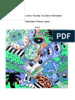 """Análisis de la obra """"Anxiety"""" de Steve Harrington"""