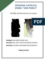 Manual Delimitacion de una cuenca