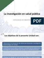 La investigación en salud pública