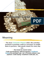 Customer Credit