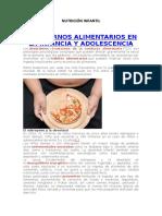 Nutrjicion inmfantil (Autoguardado)