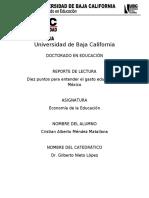 Economía de la educación informe 3 (1)