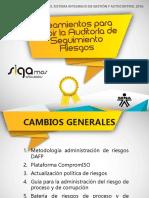 05. SGC - LINEAMIENTOS PARA RECIBIR AUDITORIA DE SEGUIMIENTO - RIESGOS
