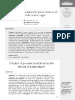 2012 Confort de los pacientes hospitalizados en el servicio de neurocirugía  Kolcaba