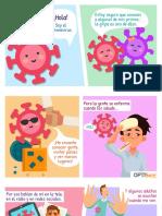 Historia niños coronavirus