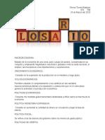 Glosario De Macroeconomia