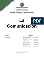 LA COMUNICACION LINGUISTICA