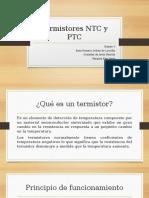 Termistores NTC y PTC