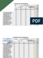ASISTENCIA DE CLASE