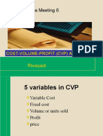 Rwd 05 CVP Analysis