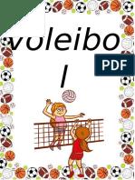 TALLER EDUCACION FISICA VOLEIBOL