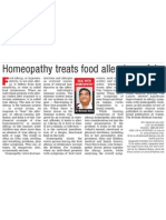 Dr.batra's Homeopathy Treats Food Allergies Safely