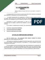 MANUAL DE ESTEQUIOMETRÍA CÁLCULOS QUÍMICOS