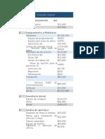 Plantilla estudio financiero