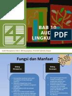 Bab 10 Audit Lingkungan