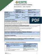 Análisis Químico Ambiental Sílabo 201520