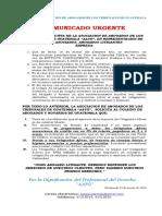 COMUNICADO OPOSICION CANG ESTADO DE CALAMIDAD corregido