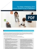 Unica Global Marketing Survey 2010