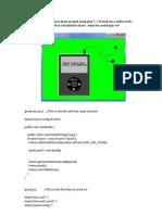 iPod Java Code