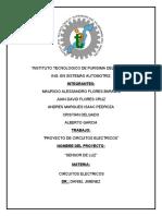 CIRCUITOS ELECTRICOS PROYECTOS SENSOR DE LUZ