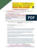 20200325-PRESS RELEASE Mr G. H. Schorel-Hlavka O.W.B. ISSUE – Re Failing Leadership in Novel Coronavirus Issues, Etc
