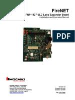 FNP-1127-SLC Loop Expander Card I&O V1.0