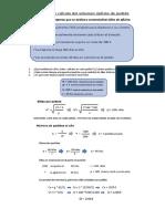 Ejemplo de cálculo del volumen óptimo de pedido