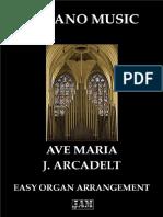 Ave Maria (Easy Organ) - J. Arcadelt