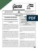 HON ACUERDO BOMBAS DE COMBUSTIBLE - SEN 001