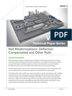 Roll Modernizations, Deflection Compensated and Other Rolls