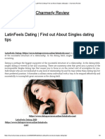 LatinFeels Dating _ Find Out About Singles Dating Tips – Charmerly Review