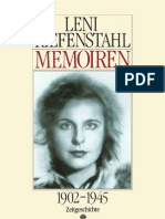 Riefenstahl Leni - Memoiren 1902-1945. 44 Abbildungen 2e Aufl. Ullstein Frankfurt 1994