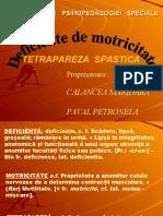 Tetrapeza Spastica Ppt