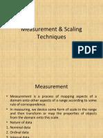 Measurement-Scaling-Techniques