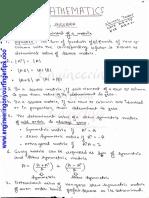 Maths gate notes