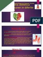 Alimentatia dietetica
