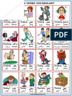 Arabic - English Action Verbs by Kunnampallil Gejo