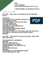 Cats Libretto