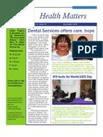 Health Matters Dec 2010