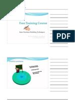 Basic Database Modeling Techniques Handout(2 Slide Per Page)