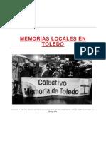 Memorias Locales en Toledo